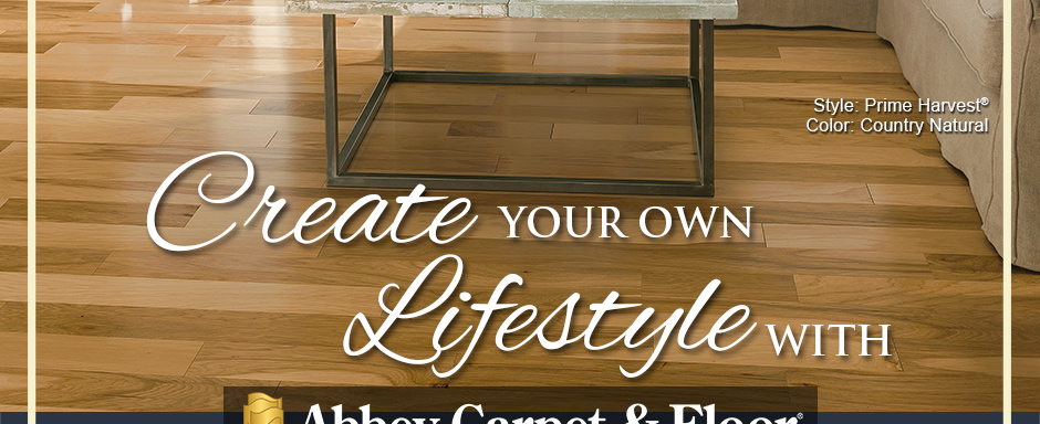 Create Your Own Lifestyle with Abbey Carpet & Floor. Armstrong Flooring Style: Prime Harvest® | Color: Country Natural
